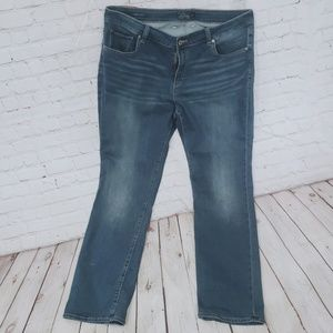 Lucky Brand Plus Straight leg jeans